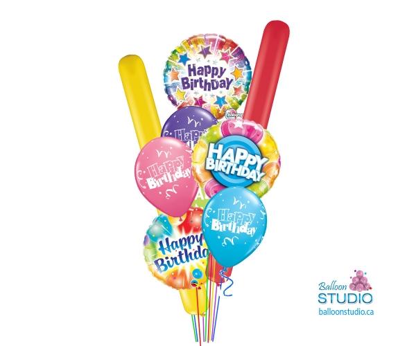 Best Bundle Birthday Balloons Bouquet