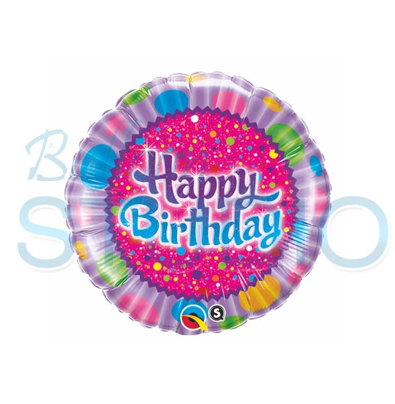 Mylar1 Happy Birthday Balloons Vancouver JC Balloon Studio