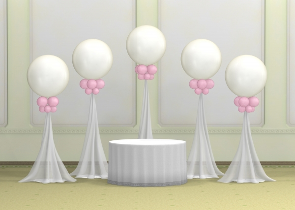 Wedding 36 Inch Balloon 3 Balloons Vancouver Jc Balloon Studio